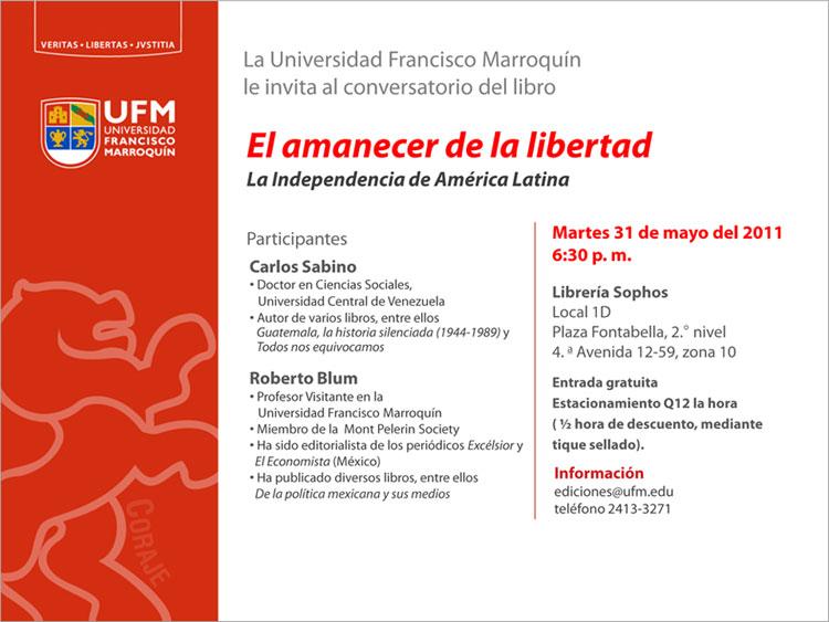 110527 UFM PUBLICACIONES-el-amanecer-de-la-libertad-C-Sabino.jpg