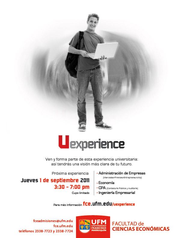 110828 UFM FCE Uexperience.jpg