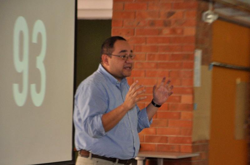Luis Ayala, director de Ingeniería empresarial, durante Ingeniería Life Style.