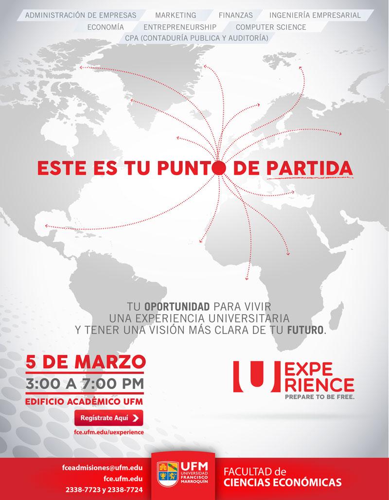 Uexperience se celebrará el jueves 5 de marzo.
