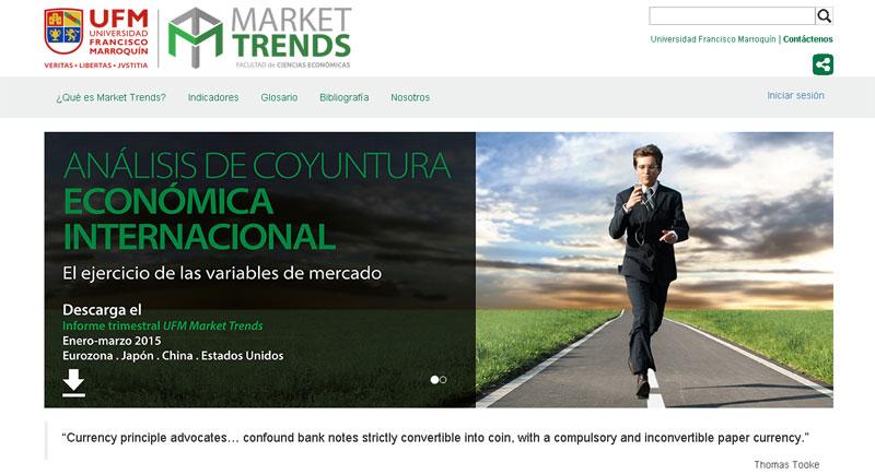 Visite UFM Market Trends en http://trends.ufm.edu/
