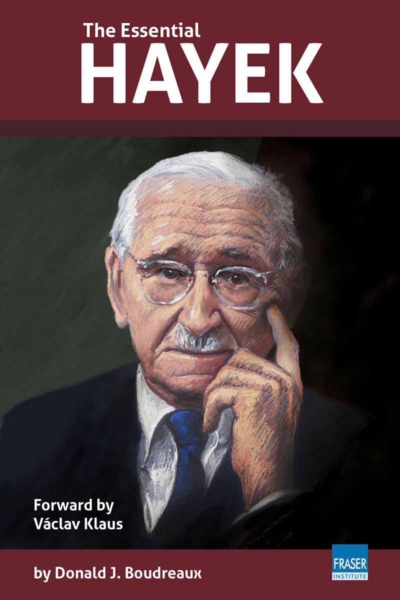 The Essential Hayek puede ser adquirido en http://goo.gl/EoF8OM