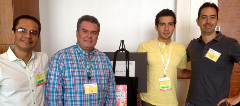 Conrado Ducas, Luis Figueroa, José Fernando Orellana y Gerey Rost en la OCON 2015.