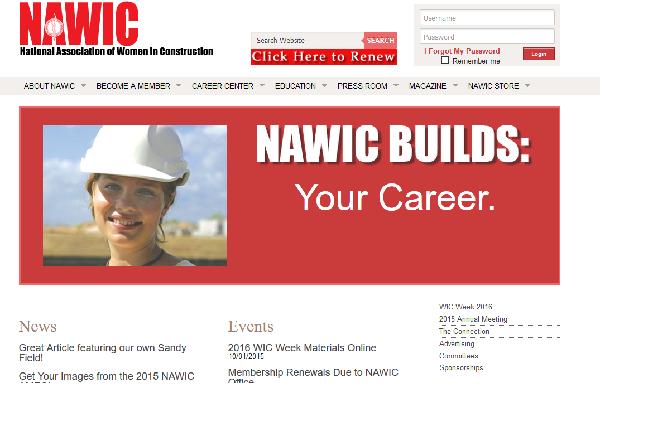 El premio es otorgado por la National Association of Women in Construction