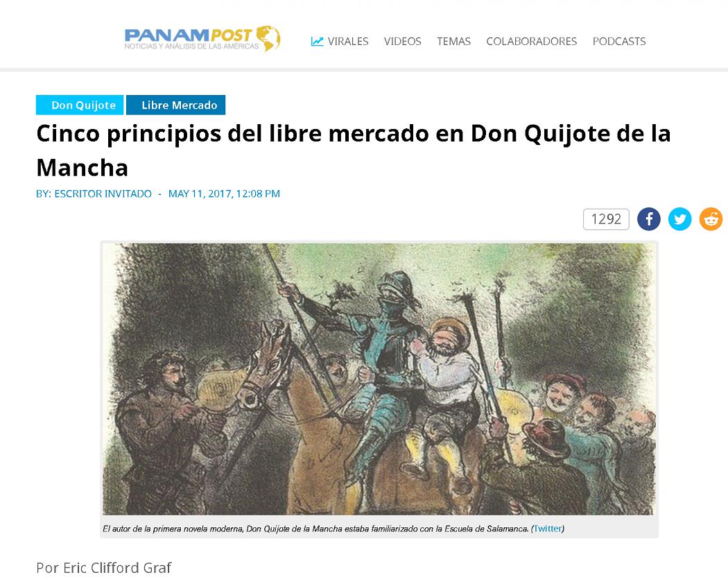 Ideas De La Libertad En Don Quijote De La Mancha El Amigo De La Marro