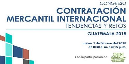 ¡Participa en el Congreso Contratación Mercantil Internacional!