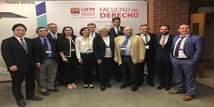Congreso CISG reunió juristas de talla mundial en la UFM