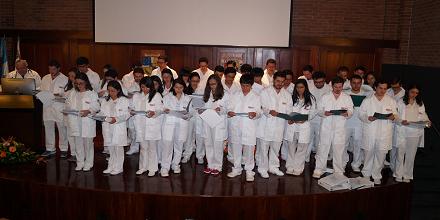 Estudiantes de Medicina iniciaron externado 2018