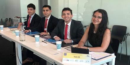 Derecho UFM destacó en ronda mundial de competencia ELSA EMC2