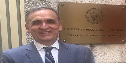 Pedro Mendoza participó como expositor en Congreso de Derecho Patrimonial