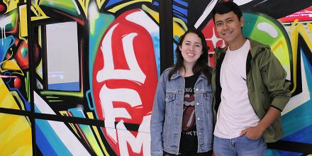 Michelle Rendón y Moisés Tenas: experiencias en el Módulo de Inmersión de la Facultad de Derecho