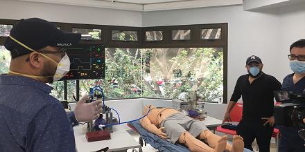 Equipo de UFM diseñó respirador para pacientes con covid-19