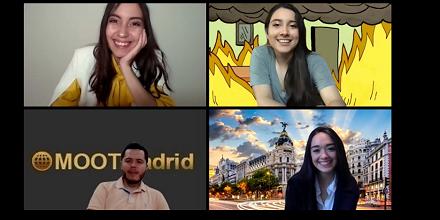 Equipo de Derecho UFM, finalista del Moot Madrid 2020