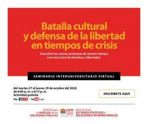 UFM SEMINARIO INTERUNIVERSITARIO - Septiembre 2020_Mailing 960 x 800px