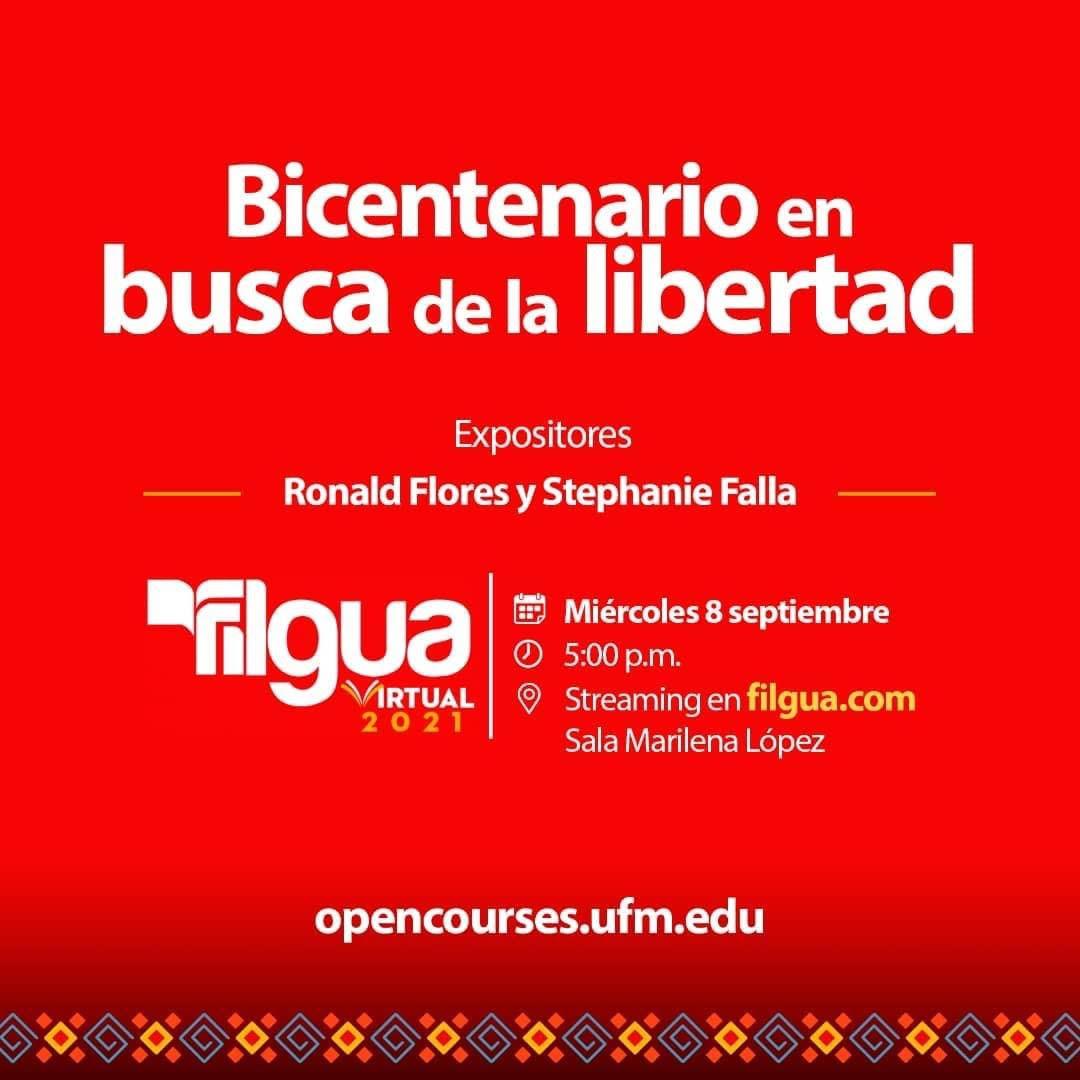 Libros y la Independencia, en la UFM